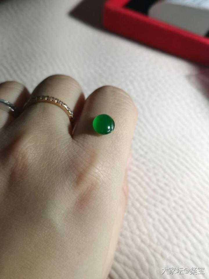 晒一颗绿蛋_翡翠