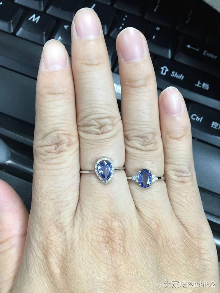 (新增证书图,闲鱼有美貌小视频)1000出头的18k真金真钻的蓝宝石戒指了解一下_名贵宝石