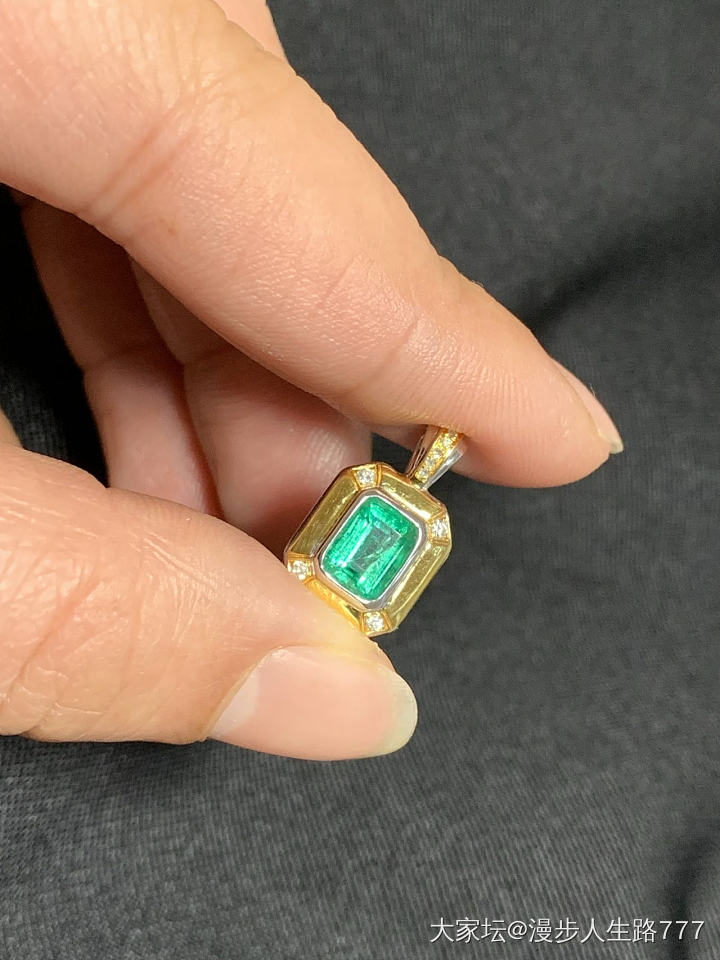 祖母绿一套_名贵宝石