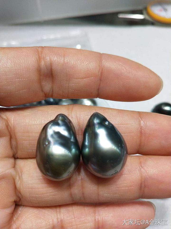 大量澳白海水巴洛克珍珠 设计任何款式 性价比高_珍珠