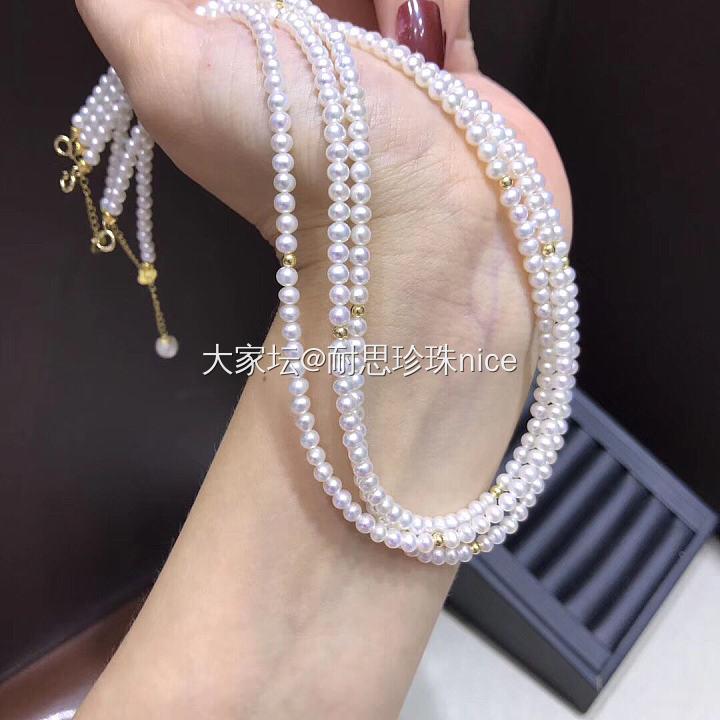 时尚百搭公主链_有机宝石