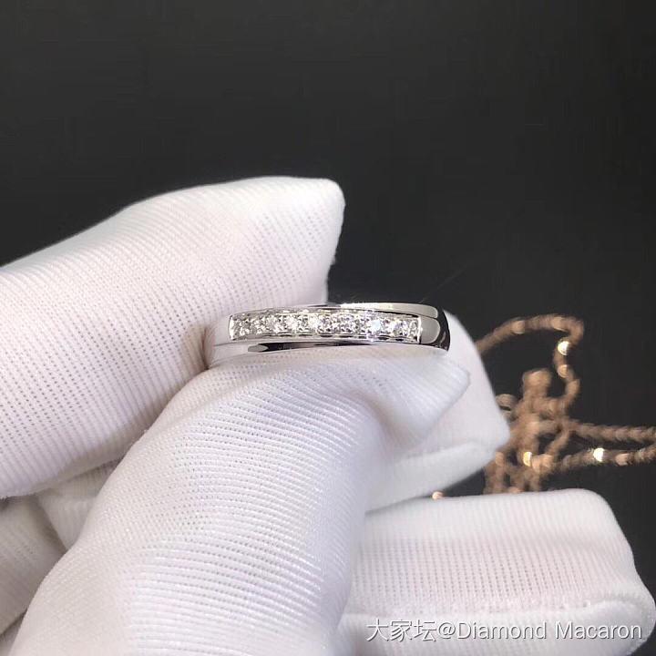K白对戒,男戒拉砂款_戒指钻石