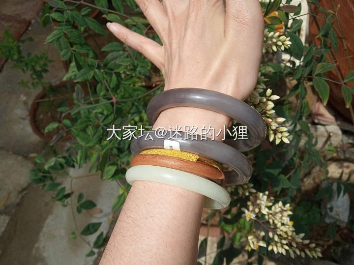 和田玉紫罗兰色镯子特价(完美的)_和田玉