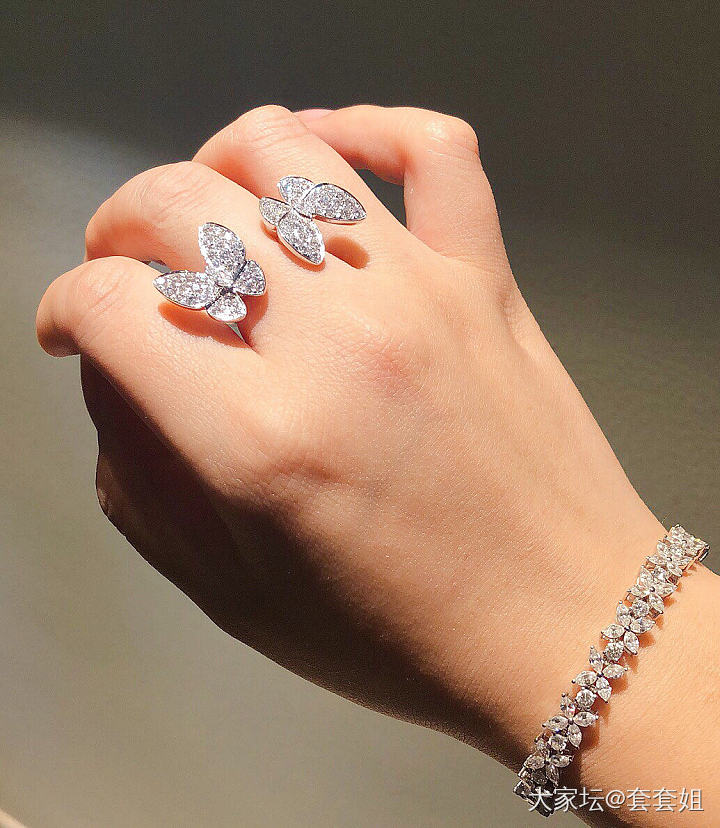 哼!那几个省略号已经说明了嫌弃我手丑…_手饰钻石