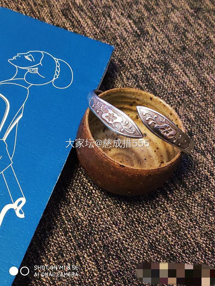 张宝源银双尖和东顺镂空竹节。_银
