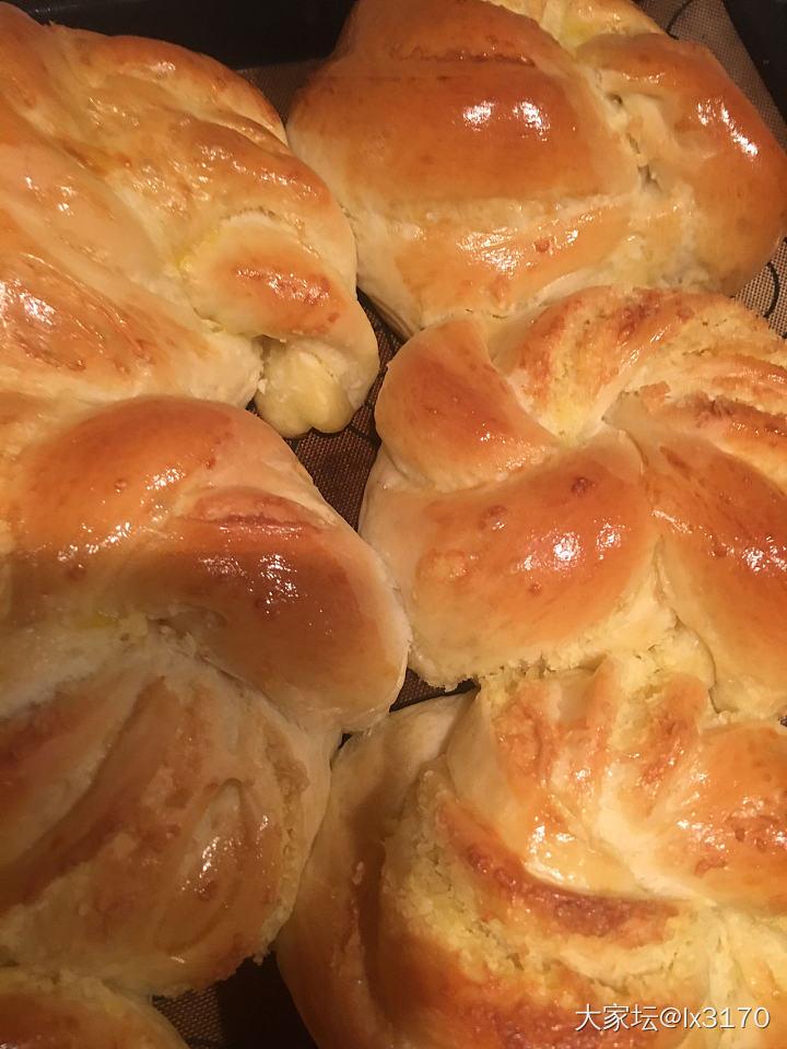 六一在家撸面包_厨艺美食