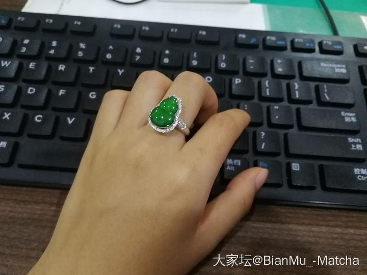 绿色好吖_戒指手饰翡翠
