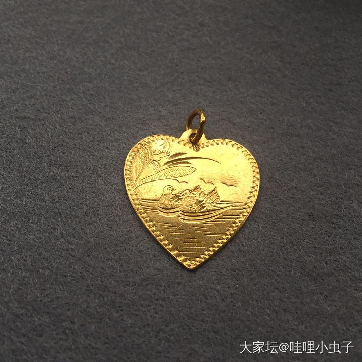 老金鸡心- 幸福/鸳鸯戏水_金