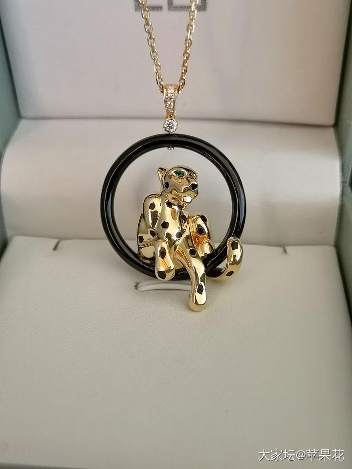 低价转让20.84克18K金豹子钻石项链,12.4克钻石白贝母蛇戒(已出)_首饰