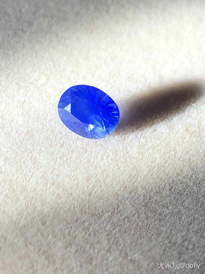 重新发马达加斯加bemainty矿的丝绒矢车菊_刻面宝石蓝宝石