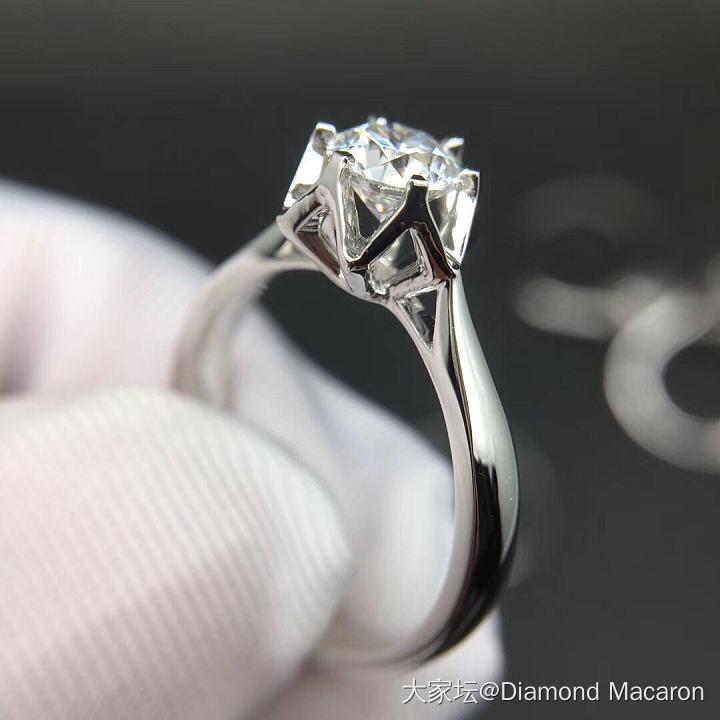 70分六边形花苞钻戒,E,VS2_戒指钻石