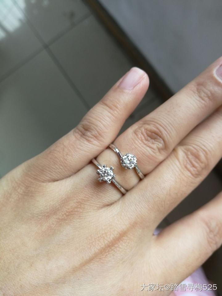 都是钻戒💍吗?_戒指钻石