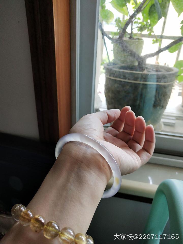 玉髓手镯56-62圈口_传统玉石