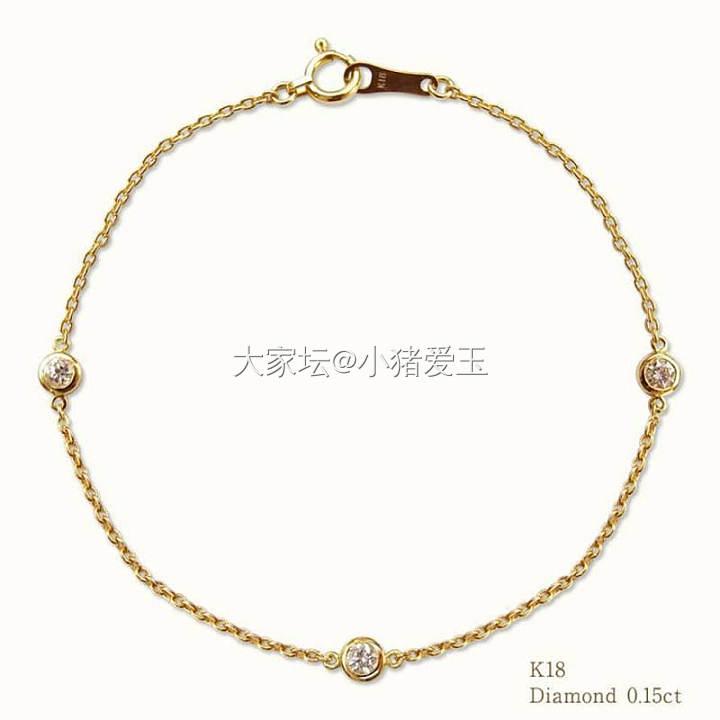 18k金经典钻石手链_手饰钻石认证商