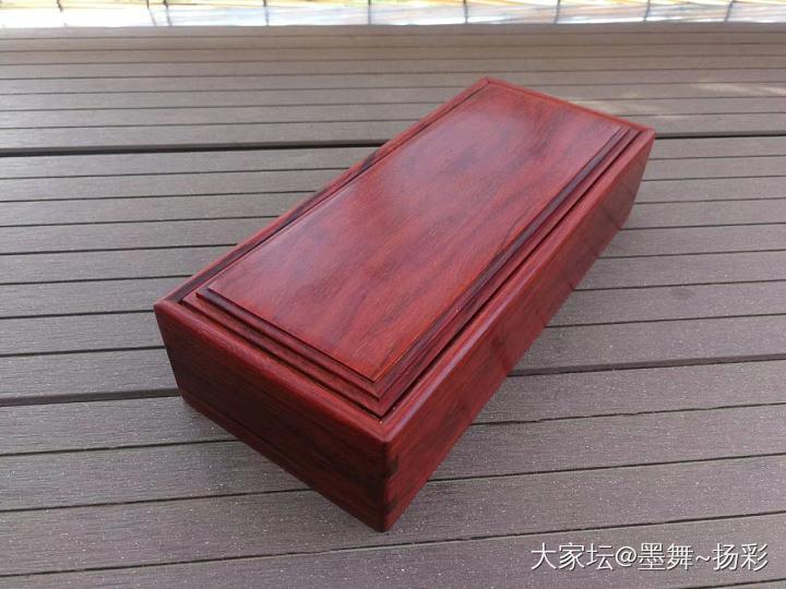 小叶紫檀抽拉盒_文玩