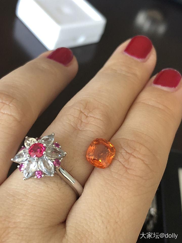 色标级缅甸芬达石, 甜就一个字_彩色宝石