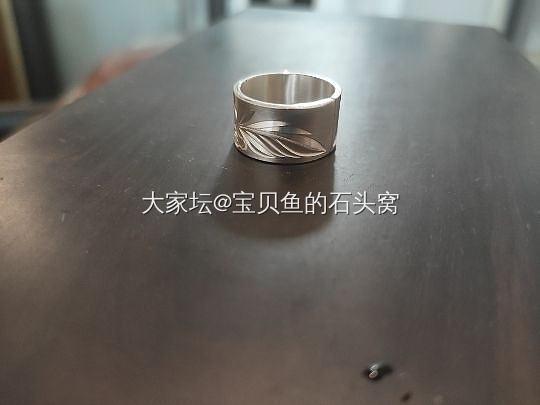 已出—出素华芍药戒指_银