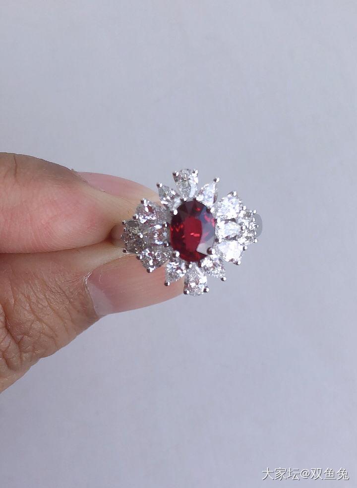 无烧鸽血红vivid red*_红宝石