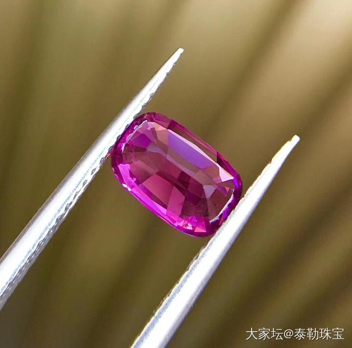 #泰勒彩宝#1.87ct紫蓝宝小精品_蓝宝石泰勒珠宝