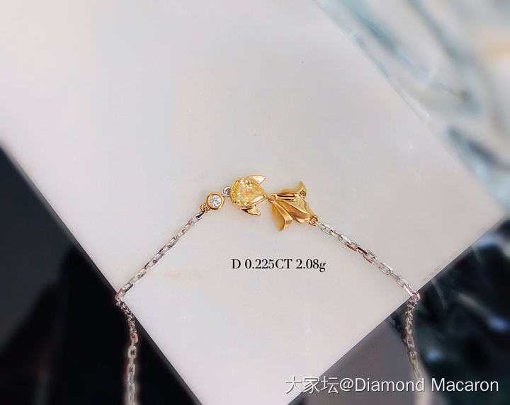 黄钻手链_钻石