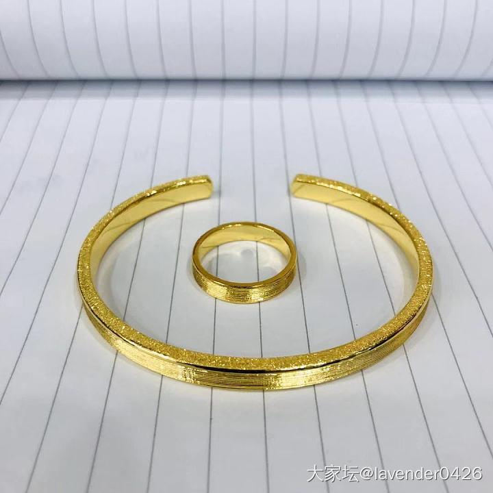 林师傅出品,必属精品!_戒指手镯金
