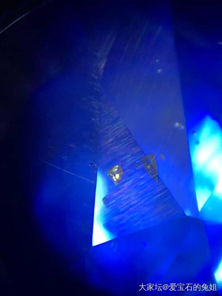 我愛的寶石包裹體_藍寶石