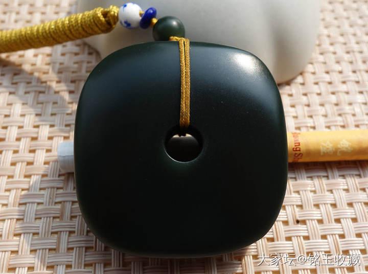 铭玉收藏---一细青玉玉琮1450元_和田玉