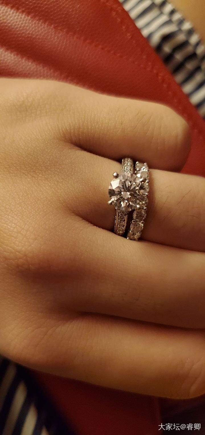 炒冷饭晒个一直喜欢的钻戒💍_戒指钻石