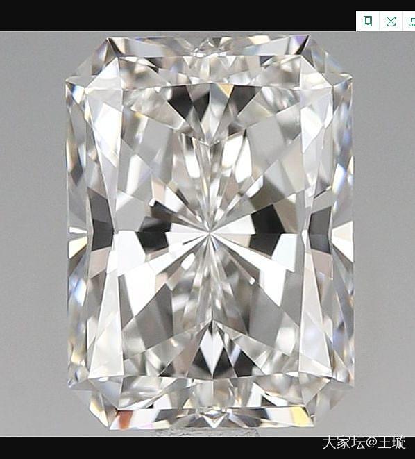 一克拉雷迪恩,求看这个参数价格是否合适_钻石