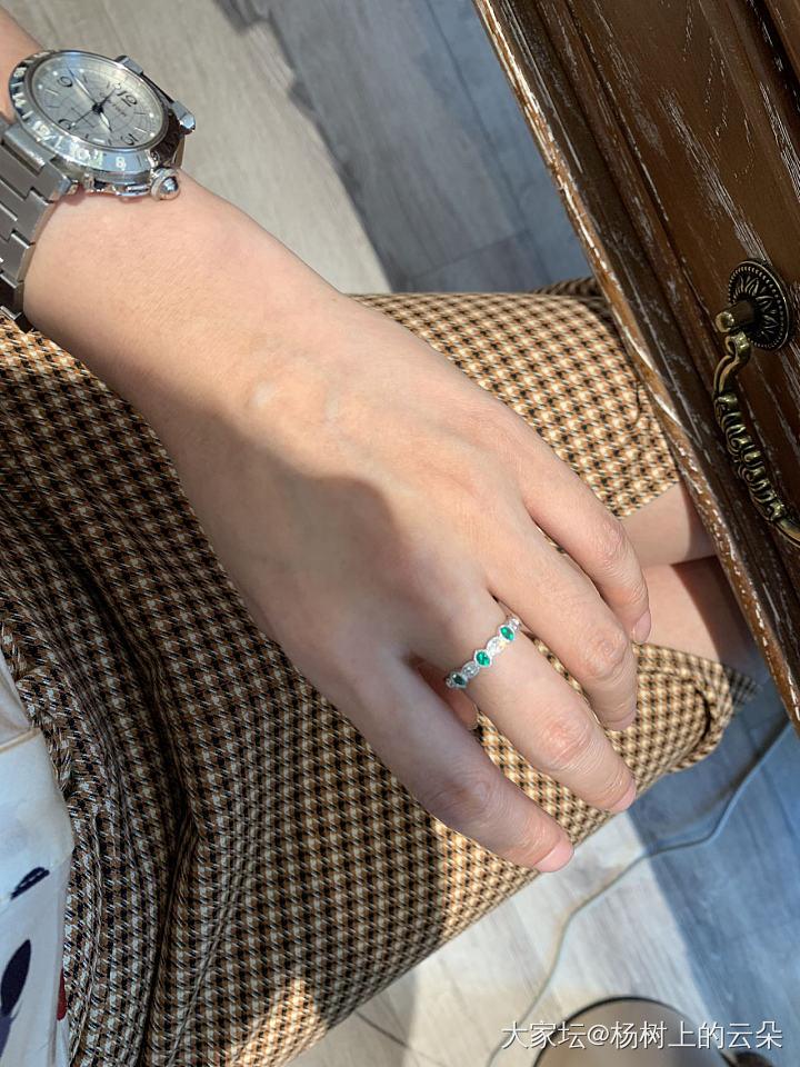 最近又开始爱小戒指了_戒指