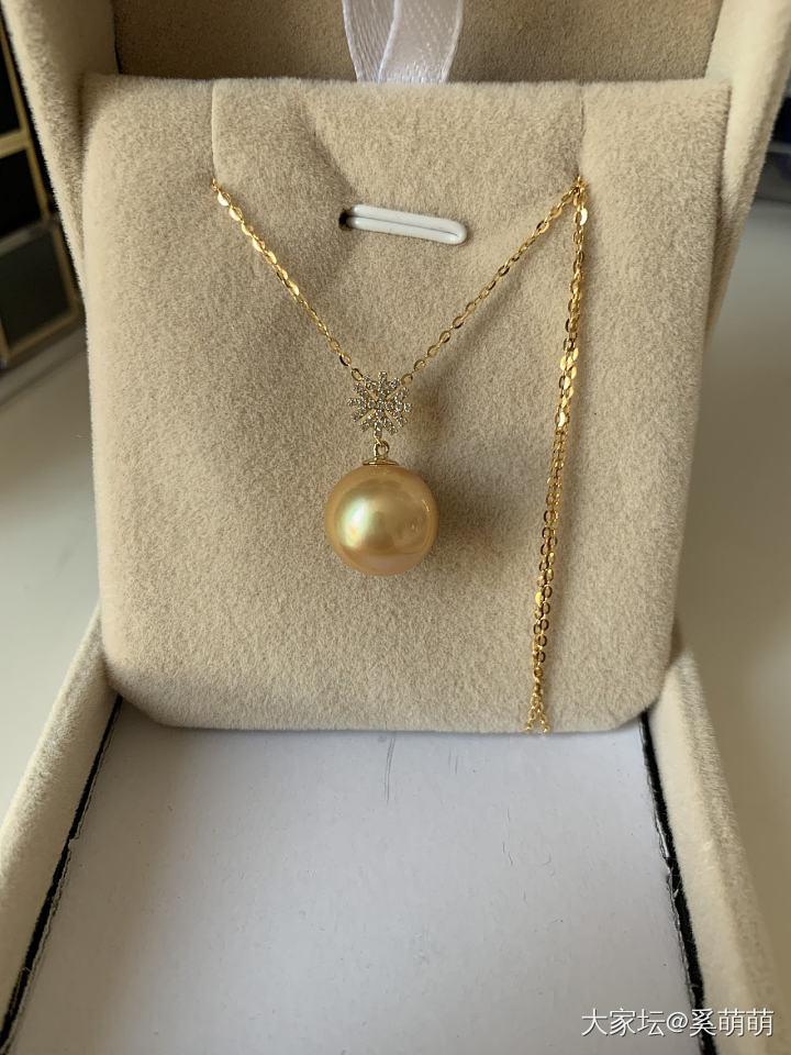 对珍珠的爱无法自拔,今天金珠套_珍珠