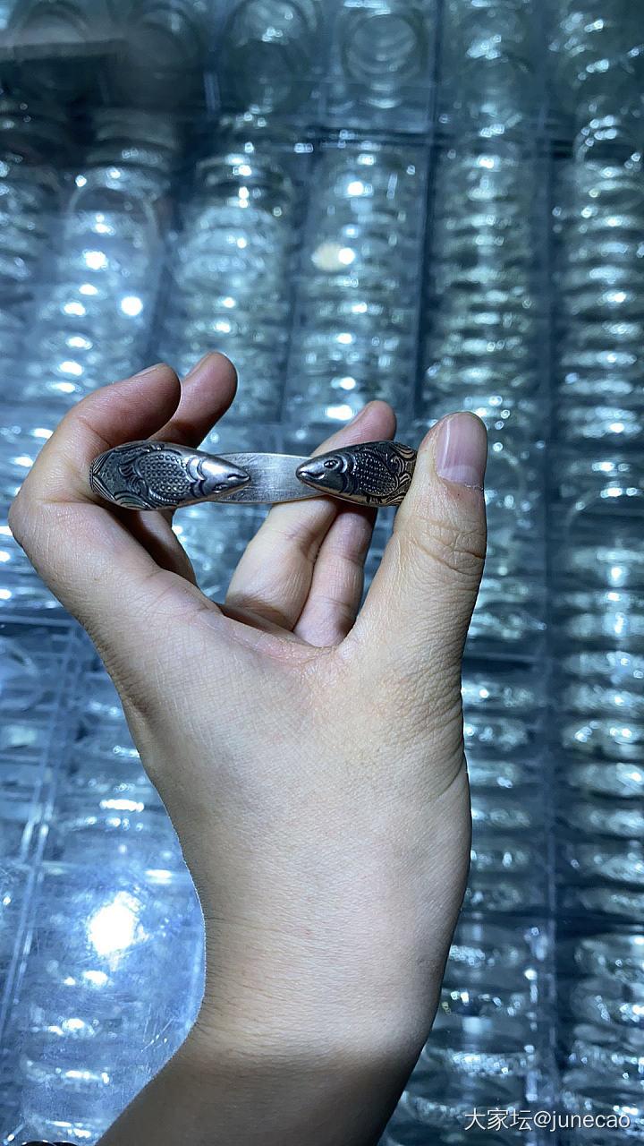贵州游第一日收获_手镯银