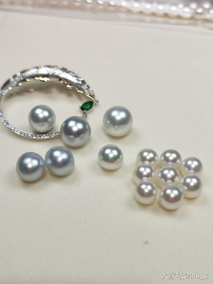 不懂珍珠,来看看这种澳白是什么级别_珍珠