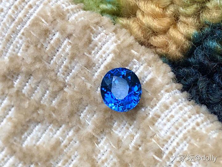 最愛的藍寶石 緬甸矢車菊_藍寶石