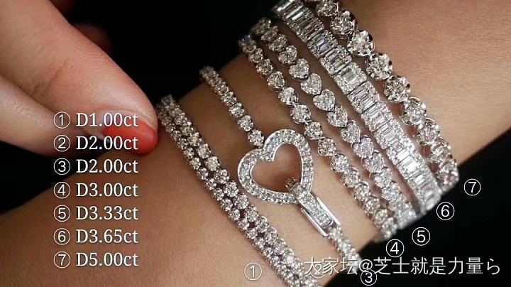 钻石手链的视觉盛宴✨_钻石