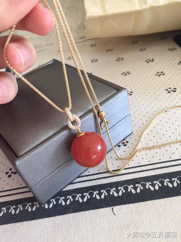 出个直径18.5的联合料南红吊坠_传统玉石银