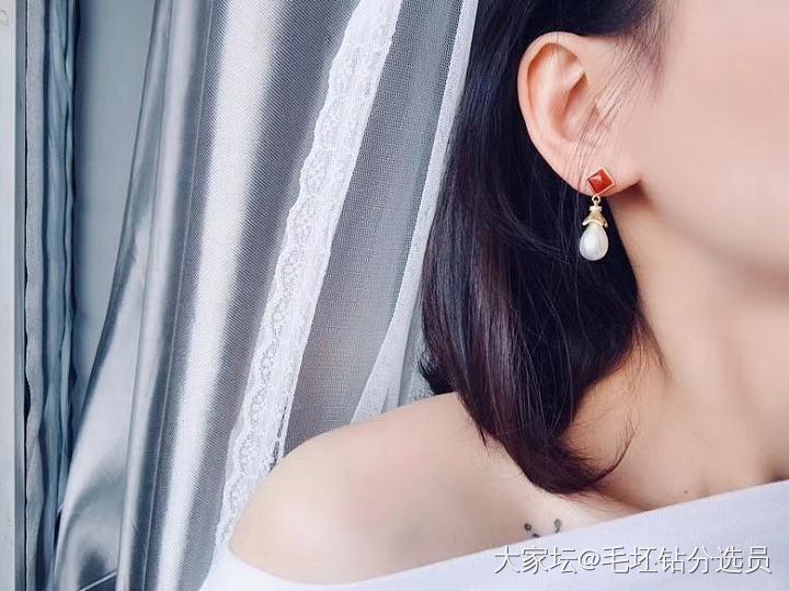 珍珠耳坠_首饰