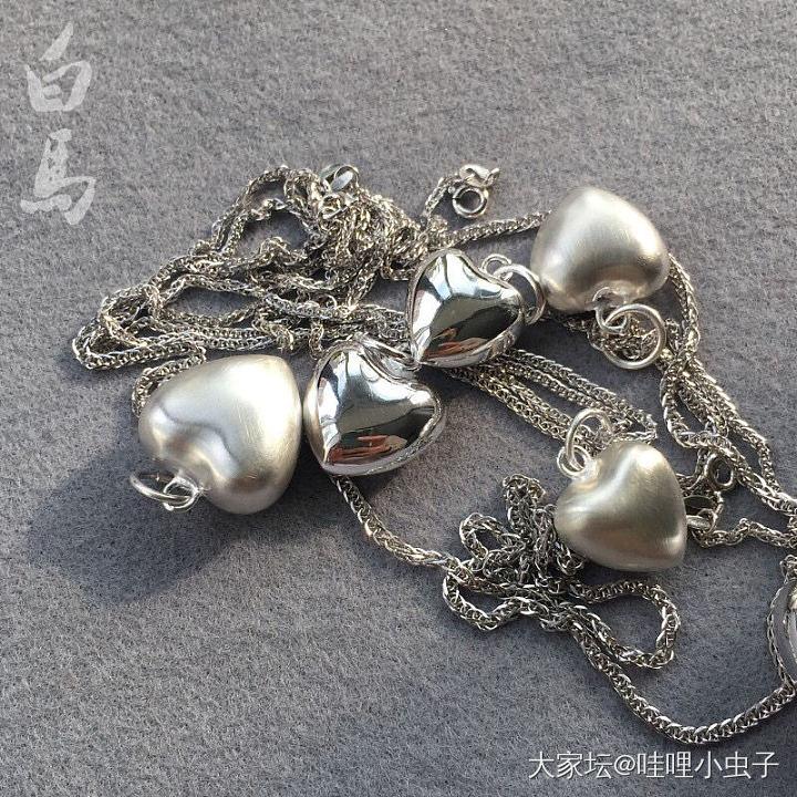 弄个吊坠都是爱你❤️的形状_银