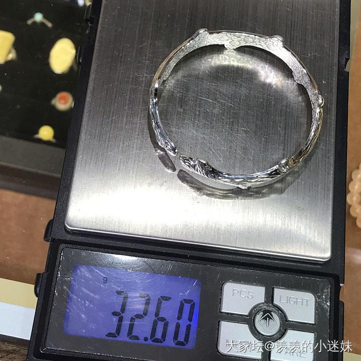 纯银手镯_银
