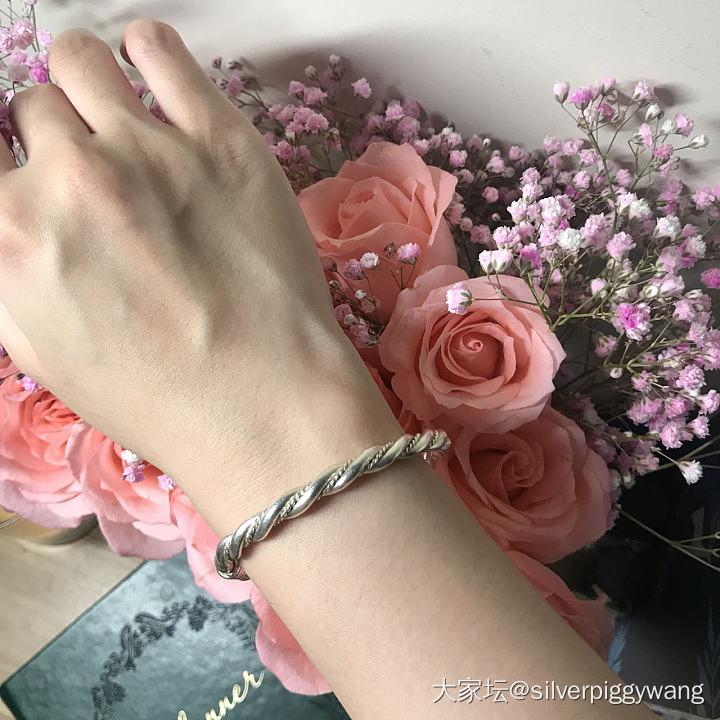 玫瑰与镯_银