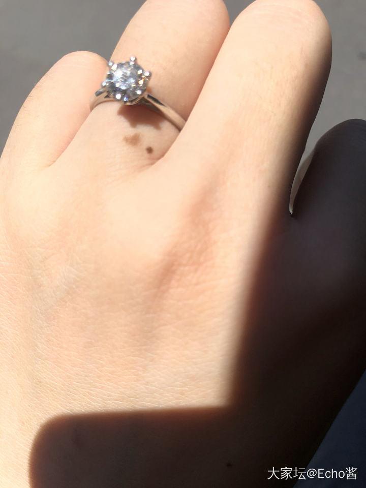 终于又戴上了_钻石