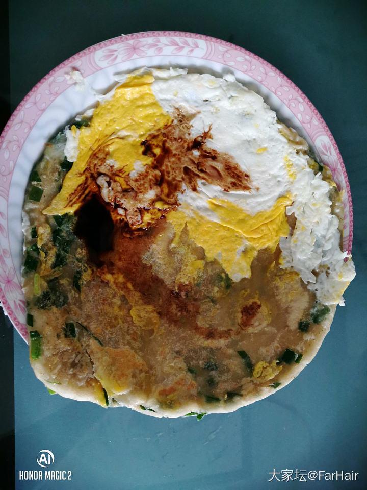 试做葱油饼_美食