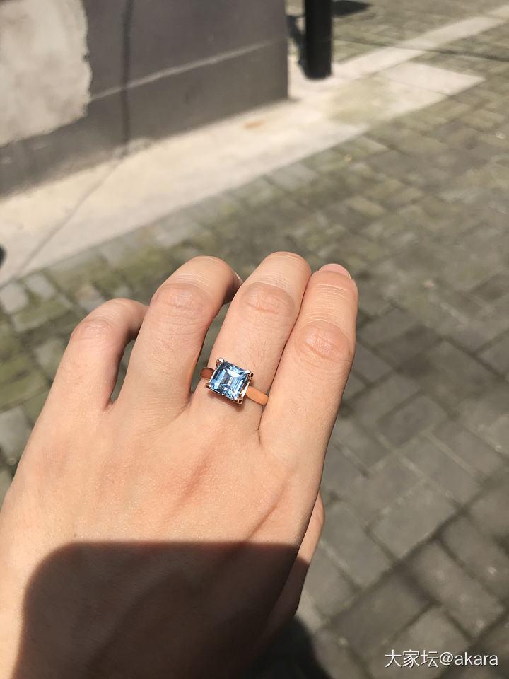 求问姐妹们海蓝宝的问题,新手入坑_海蓝宝彩色宝石