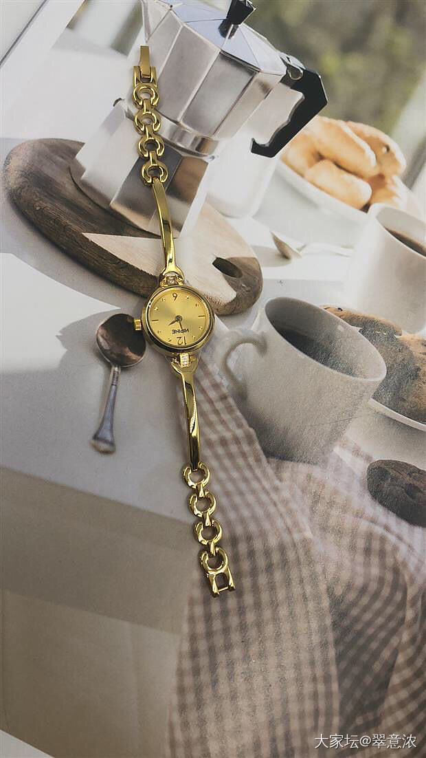 这两款金表都喜欢,纠结中_金手表