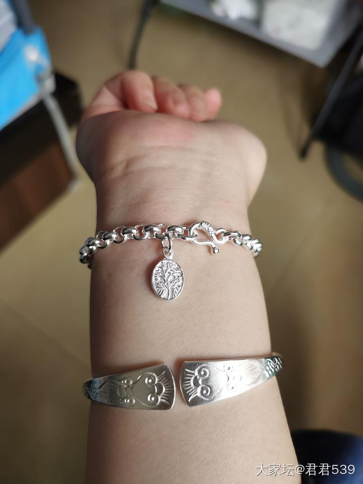 秀秀珍珠链_手链手镯银