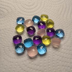 大牌车工 宝曼兰朵 糖果色戒指 可私人定制