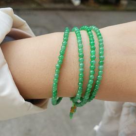 翡翠绿珠子