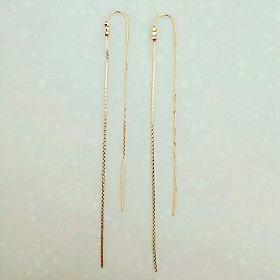 k金耳线,耳钉,项链