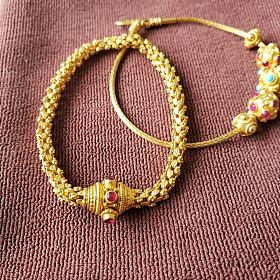 西亚手工金蛇骨手链