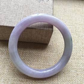 紫色圆条手镯